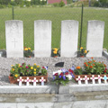 The graves in Voue