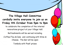 Village Hall Grand Opening